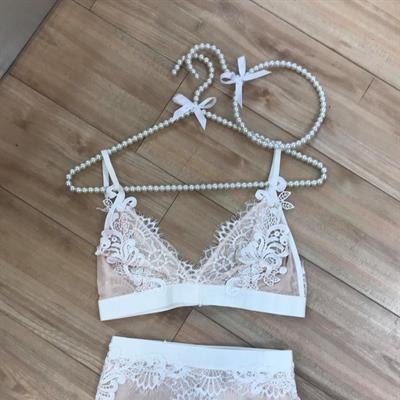 Primark Pearl Hanger and Lace Bridal Underwear