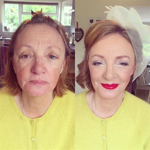 10 years younger make up transformation