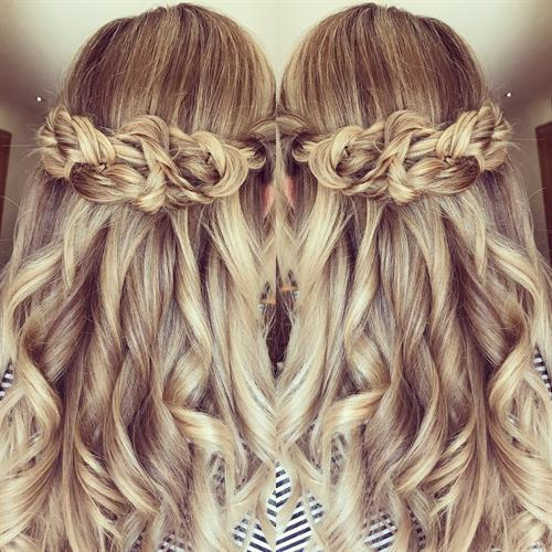 Waves for days with these boho hair vibes