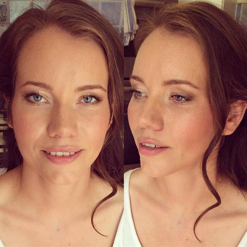 Effortlessly beautiful bridal make up also suitable for special occasions