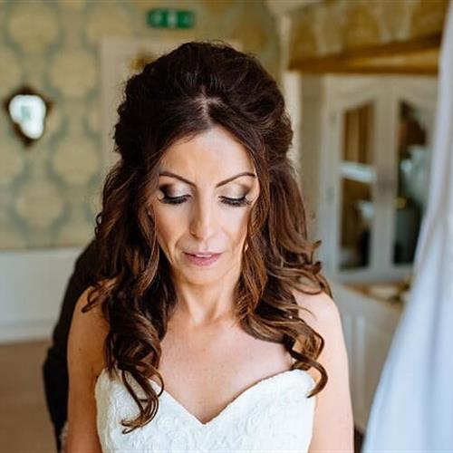 Gorgeous bridal make up for the glam bride! by bridal make up artist Suezanna Ward